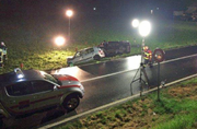 Dieser verhängnisvolle Unfall im Wallis war ein Suizidversuch. (Bild: PD (Münster, 9. August 2015))