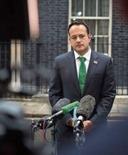 Der irische Premier Leo Varadkar beim Staatsbesuch in London. (Bild: Carl Court/Getty (25. September 2017))