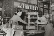 Audrey Hepburn kaufte 1957 bei Grüter-Suter ein. (Bild: pd)