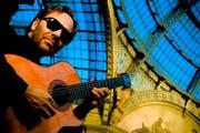 Jazz-Gitarrist Al Di Meola eröffnet das Tonart Festival in Altdorf. (Bild: PD)