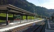 Der neue Bahnhof in Lungern. (Bild: PD)