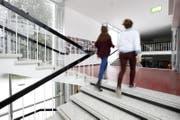 Ein Blick in das Gymnasium Menzingen. (Bild: Stefan Kaiser / ZZ)