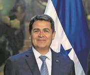 Juan Orlando Hernández, Präsident von Honduras. (Bild: EPA)
