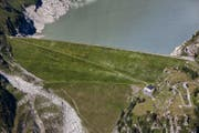 Der Damm des Göscheneralpsees im Kanton Uri. (Bild: Keystone/Alessandro della Bella)