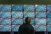 Szene von der Übung «Locked Shields» im zur Nato gehörenden Zentrum für Cyber-Abwehr im estnischen Tallinn. (Bild: Cooperative Cyber Defence Centre of Excellence (CCDCOE))