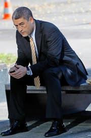 Ivo Romer im Jahr 2010 bei seiner Wiederwahl als Stadtrat. (Bild Stefan Kaiser)