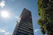 Der Park-Tower in der Stadt Zug gibt weiter zu reden. (Bild Stefan Kaiser)