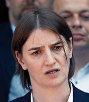 Ana Brnabic (41). (Bild: Darko Vojinovic/AP)