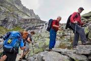 Schön, aber riskant: Bergwandern und insbesondere Hochtouren bergen viele Risiken. (Bild: Keystone)