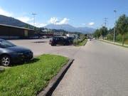 Der Parkplatz Risch in Ebikon. (Bild: PD)