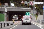 Einfahrt in den Loppertunnel. (Archivbild: Markus von Rotz / OZ)