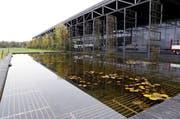 Eine ausgeklügelte Begrünung und die elegante Architektur der Fensterfabrik bilden ein ästhetisches Ganzes. (Bild: Werner Schelbert / Neue ZZ)