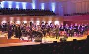 Ein Auftritt der Lucerne Concert Band im KKL unter der Leitung des Dirigenten Urs Ehrenzeller. (Bild: PD/Priska Ketterer)