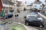 Die Stadt Sursee mit Blick in Richtung Rathaus. (Bild: Pius Amrein/Neue LZ)