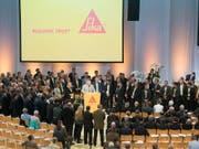 Sika-Generalversammlung (Bild letztes Jahr)): Konflikte zwischen Erbenfamilie und Geschäftsführung sind vorprogrammiert. (Bild: KEYSTONE/URS FLUEELER)