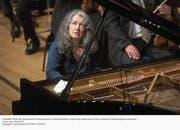 Martha Argerich, am Lucerne Festival Sommer 2016, wird als Solistin im Eröffnungskonzert auftreten. (Bild: Priska Ketterer/Lucerne Festival)