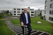 Finanzdirektor Urs Dickermann musste ein Defizit verkünden. (Archivbild Nadia Schärli)