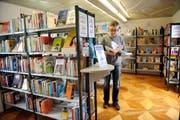 Auch die Kantonsbibliothek Obwalden ist am Verbundkatalog beteiligt. (Bild: Corinne Glanzmannn / Neue OZ)