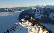 Blick vom Stanserhorn am 25. Dezember, 9 Uhr. (Bild: Webcam Stanserhorn)