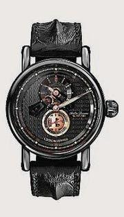 So sieht die Uhr im Crypto-Design aus. (Bild: PD)