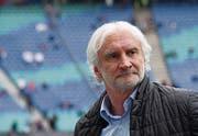 Rudi Völler, Sportchef Bayer Leverkusen: «Wir sitzen alle in einem Boot.» (Bild: Hendrik Schmidt/Keystone)