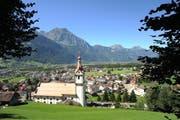 Blick auf Schattdorf (Bild: Urs Hanhart)
