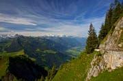 Eine Impression unseres Lesers Hardy Konzelmann vom Stanserhorn im Kanton Nidwalden. (Bild: Leserbild)