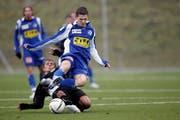 Skorte zweimal für Luzern: Der 18-jährige Janko Pacar. (Archivbild Philipp Schmidli/Neue LZ)