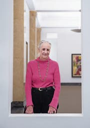 Museumsdirektorin und Kunstsammlerin Angela Rosengart. (Bild: Boris Bürgisser (Luzern, 17. März 2017))