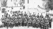 Ob sich die Hochdorfer Feldmusik bei ihrer neuen Uniform von jener aus dem Jahr 1899 hat inspirieren lassen? (Bild: PD)