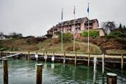 Platz 10 in der Kategorie Tagungslocations: Seehotel Kastanienbaum. (Bild: Pius Amrein (Kastanienbaum, 29. Februar 2016))