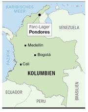 Karte von Kolumbien. (Bild: LZ)