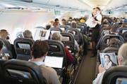 Aeropers-Sprecher: «Es geht auch um das Wohl der Passagiere.» (Bild: Gaetan Bally/Keystone (Flug nach Zürich, 12. April 2013))