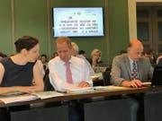 Die elektronische Abstimmungsanlage im Zuger Kantonsrat dürfte bald auch vom Grossen Gemeinderat genutzt werden. (Bild: PD)