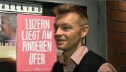 Thomas Eichenberger, Medienverantwortlicher des Filmfestivals Pink Panorama in Luzern. (Bild: Screenshot)