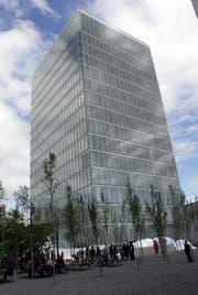 Roche-Tower in Rotkreuz. (Bild: Werner Schelbert / Neue ZZ)
