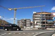 Eine Baustelle in Kerns im Kanton Obwalden. (Bild: Archiv Neue LZ)