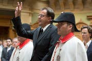 Peter Schilliger ist am Montag im Nationalrat vereidigt worden. (Bild: Keystone)