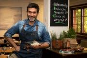 Emilio Espinosa Schwarz in seinem Restaurant «Pikante – Peruvian Cuisine». (Bild: Isabelle Jost (30.06.2017, Luzern))