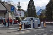 In der Tiefgarage der Urner Kantonalbank stehen ab sofort auch öffentliche Parkplätze bereit. (Bild: Anian Heierli)