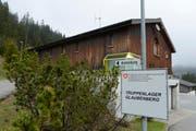 Das Truppenlager Glaubenberg in Sarnen wird für drei Jahre zu einem Ausreisezentrum für Asylsuchende. (Bild: Dominik Wunderli / Neue LZ)