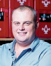 Martin Uster, Geschäftsführer der Brauerei Baar. Bild: Maria Schmid