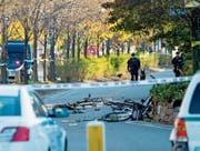 Bei einem Attentat wurden am Dienstag in Manhattan acht Personen getötet. (Bild: Craig Ruttle/Keystone (New York, 31. Oktober 2017))