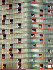 Im 60 Meter hohen Leutschentower in Zürich befinden sich 95 Wohnungen und 5500 Quadratmeter Büroflächen.
