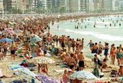 Der Levante-Strand. (Bild: G. MORELL (EFE) / Keystone)