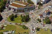 Der Seetalplatz soll für die Entwicklung des Gebietes Luzern Nord ausgebaut werden. (Archivbild Michael Buholzer/Neue LZ)
