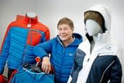 Calida-CEO Felix Sulzberger am Hauptsitz der Gruppe in Sursee. (Bild Pius Amrein)