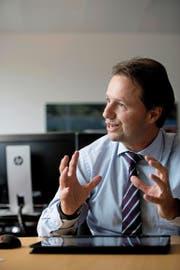 Der neue Geschäftsführer der Zentralbahn, Michael Schürch. (Bild Corinne Glanzmann)