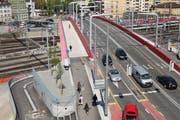 Der Unfall ereignete sich auf der Langensandbrücke. (Symbolbild) (Bild: Archiv / Neue LZ)