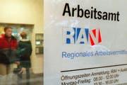 Die Zahl der Arbeitslosen in der Zentralschweiz ist gesunken. (Symbolbild Keystone)